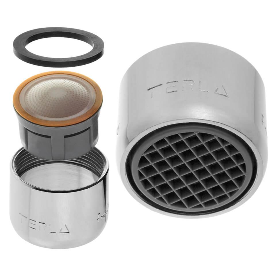 Aireador de ahorro de agua Terla FreeLime 2.5 l/min - Rosca M22x1 interna