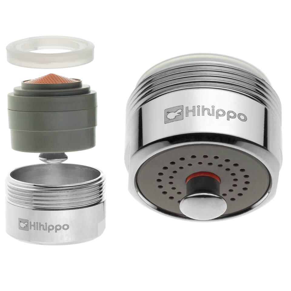 Aireador de ahorro de agua Hihippo HP 1.8 - 4.2 l/min start/stop
