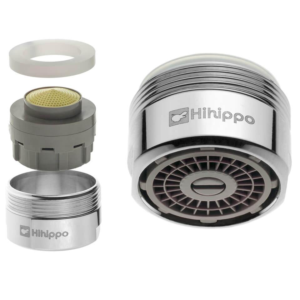 Aireador de ahorro de agua ajustable Hihippo SR 3.0 - 8.0 l/min