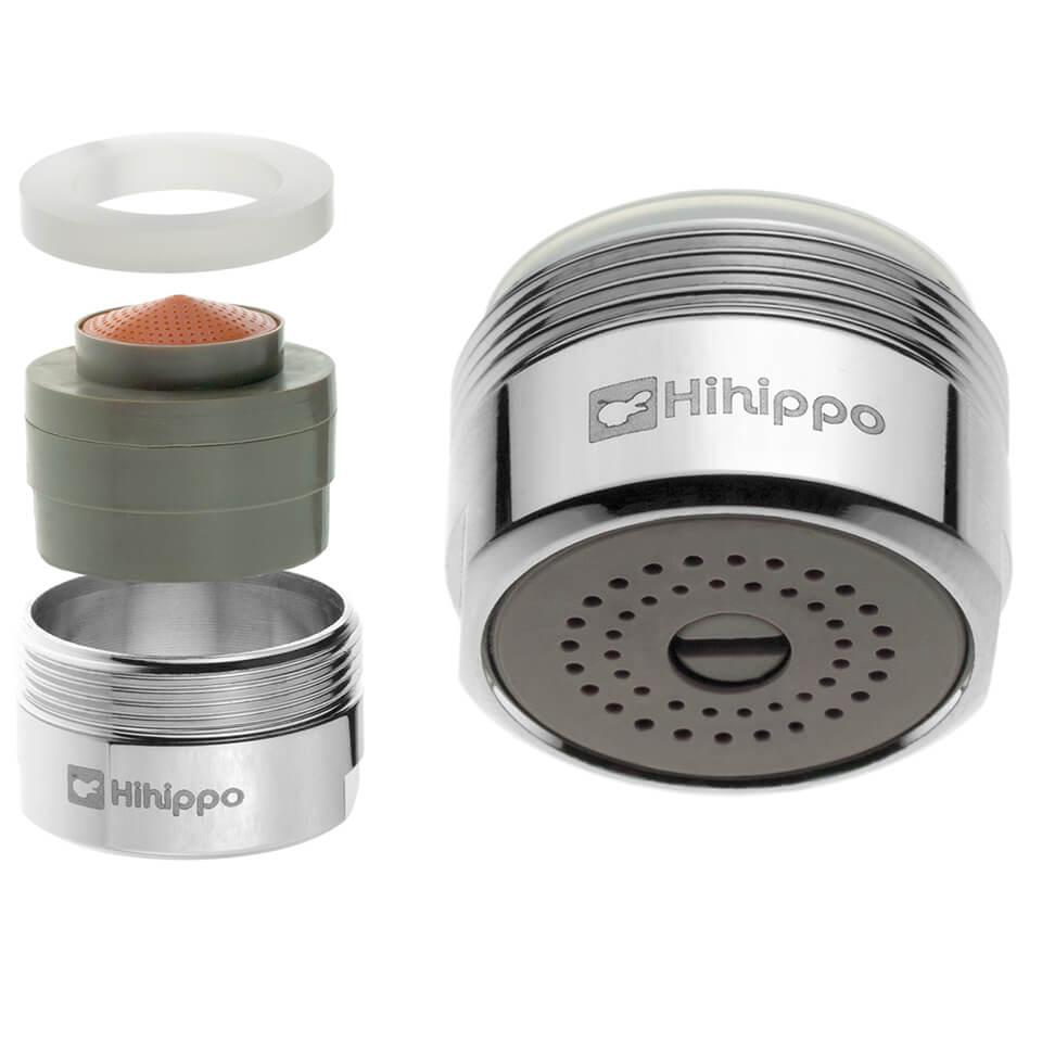 Aireador de ahorro de agua ajustable Hihippo R 1.8 - 8.0 l/min