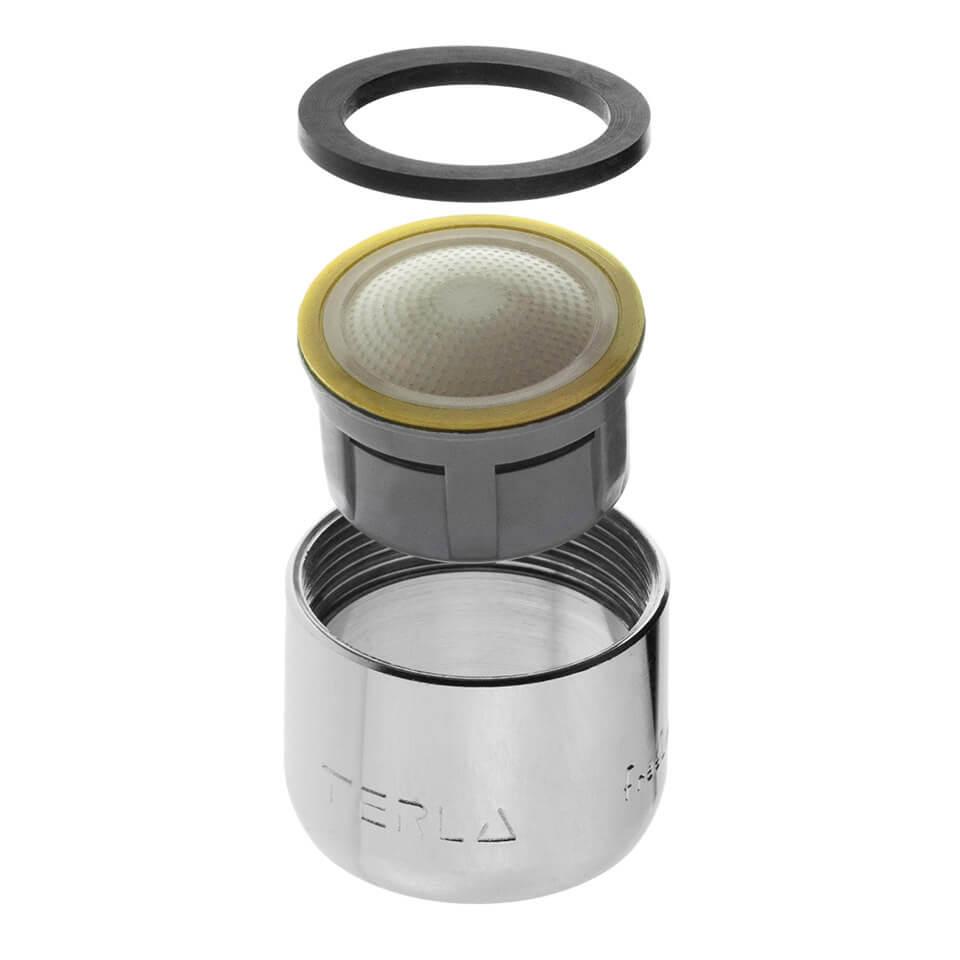 Aireador de ahorro de agua Terla FreeLime 1.7 l/min - Rosca M22x1 interna
