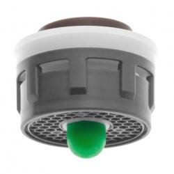El cartucho Neoperl Push para aireador con botón 5 o 11 l/min